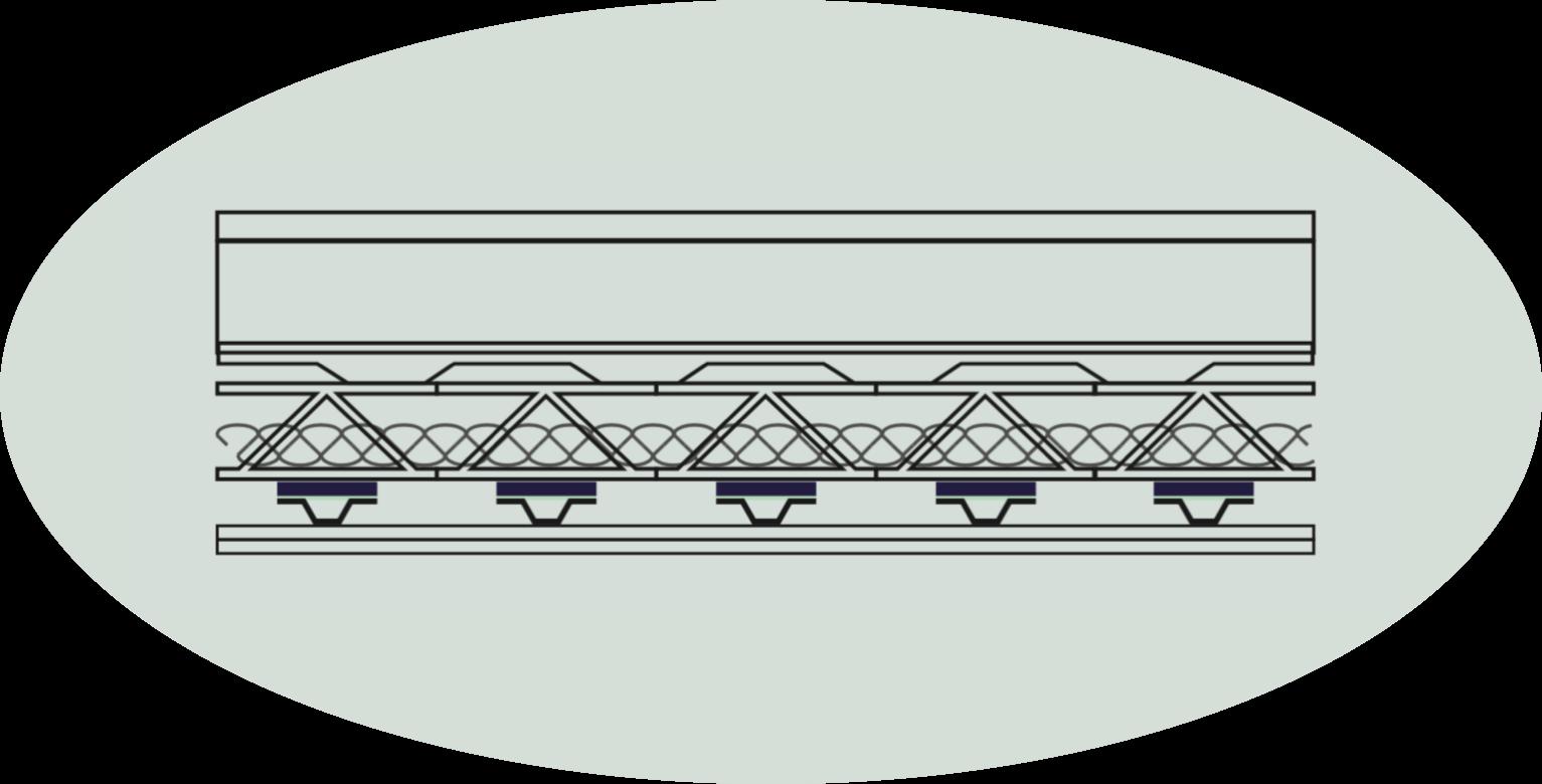 OSSATURE DE MÉTAL