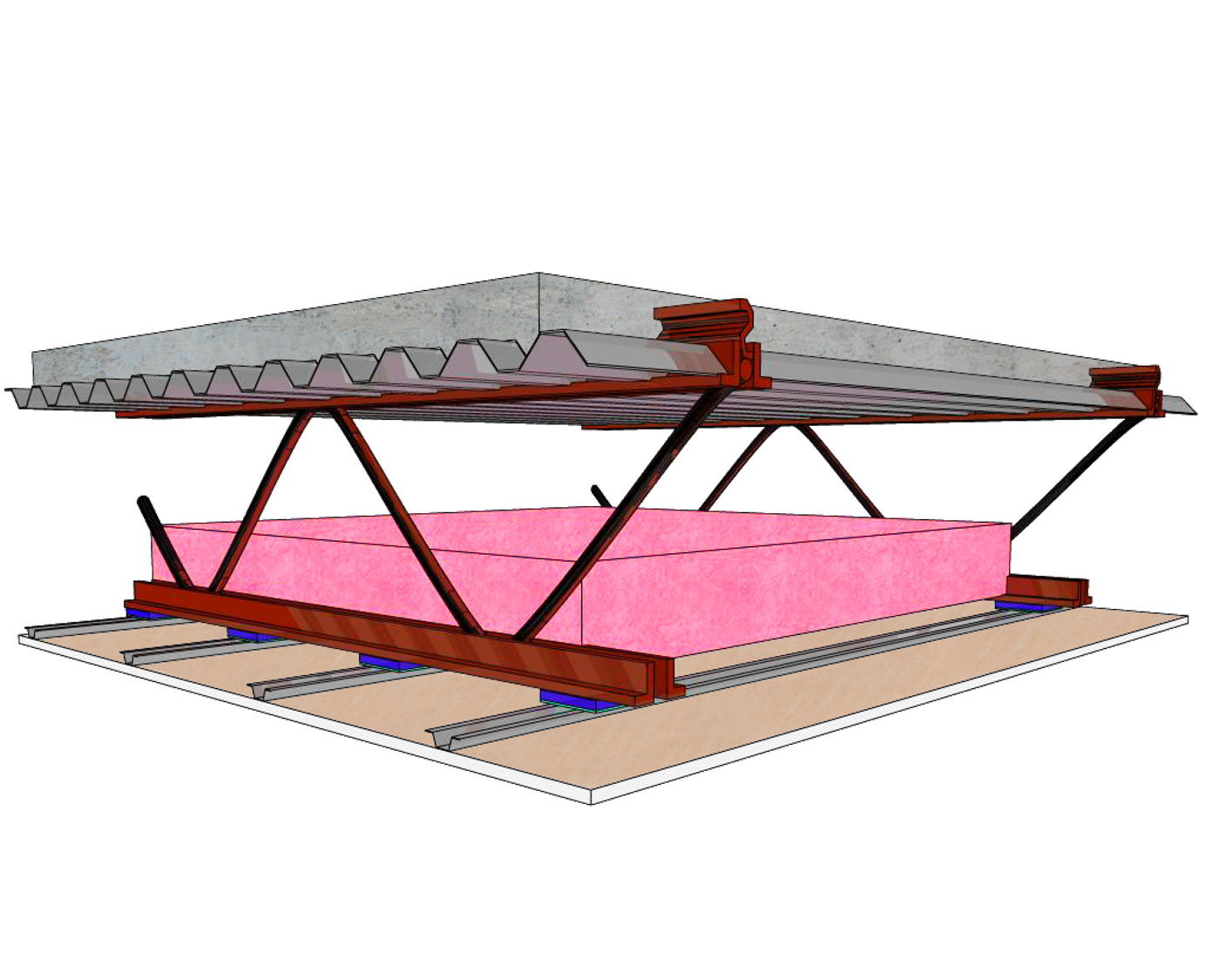 STEEL STRUCTURE - drawing